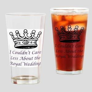 icouldntcarelessabouttheroyalweddin Drinking Glass