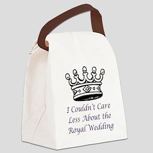 icouldntcarelessabouttheroyalwedd Canvas Lunch Bag