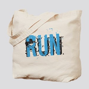 Grunge RUN Tote Bag