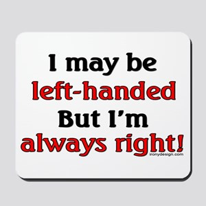 Left-Handed Mousepad