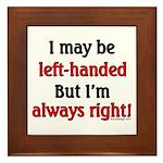 Left-Handed Framed Tile