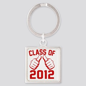 thisguy-2012-red Square Keychain