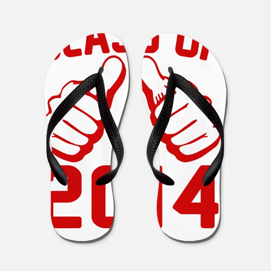 thisguy-2014-red Flip Flops