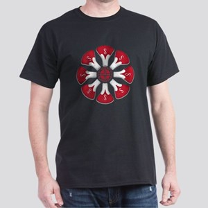 Schwinn Flower - Red 2 Dark T-Shirt