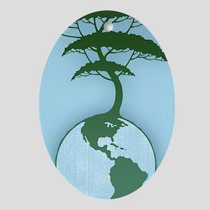 earth-tree2-OV Oval Ornament