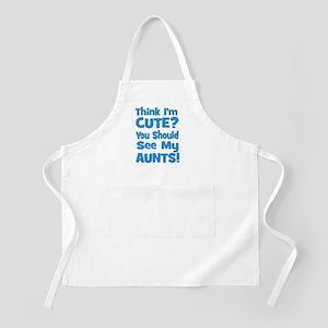 Think I'm Cute? AuntS (plural BBQ Apron