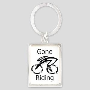 Gone_riding Portrait Keychain