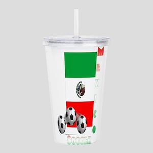 Mex Soccer Power15 Acrylic Double-wall Tumbler