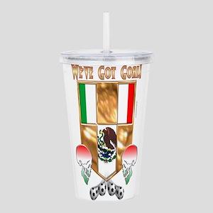 Mex's Got Goal Acrylic Double-wall Tumbler