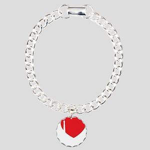 iloveparis2B Charm Bracelet, One Charm