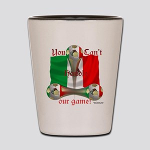 Mexico Soccer Game On Shot Glass