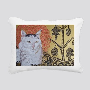KlimtCat 4x6 Rectangular Canvas Pillow