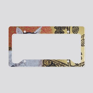 KlimtCat 4x6 License Plate Holder
