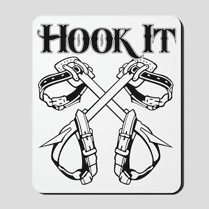 Hook it lineman logo 1 Mousepad