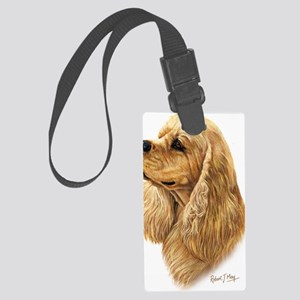 American Cocker Spaniel 2 Large Luggage Tag