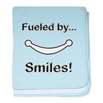 Fueled by Smiles baby blanket