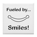 Fueled by Smiles Tile Coaster