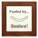 Fueled by Smiles Framed Tile