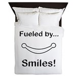 Fueled by Smiles Queen Duvet