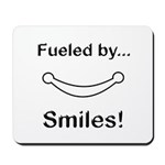 Fueled by Smiles Mousepad
