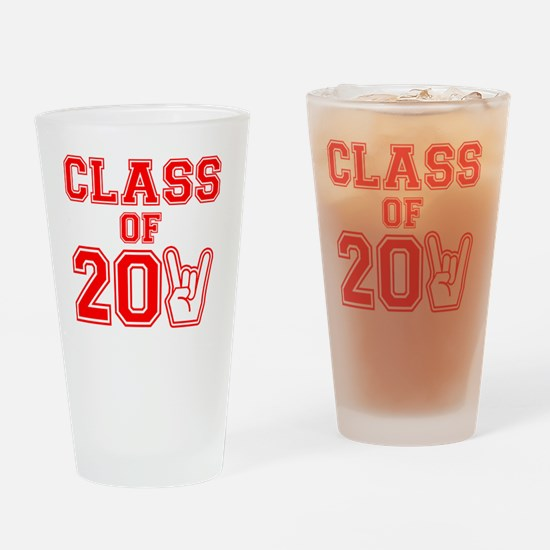 class2011-red Drinking Glass