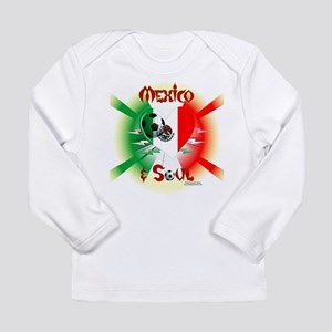 Mexican Soccer Soul Long Sleeve T-Shirt