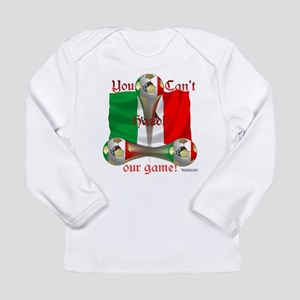 Mexico Soccer Game On Long Sleeve Infant T-Shirt