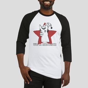 Llamas-D9-BlackApparel Baseball Jersey