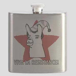 Llamas-D9-BlackApparel Flask