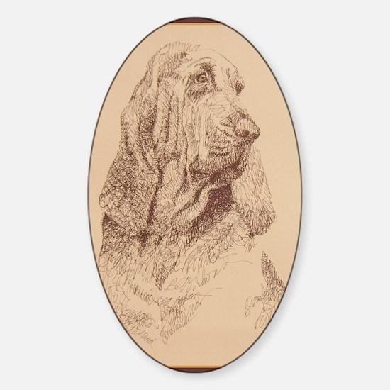 Bloodhound_KlineZ Sticker (Oval)