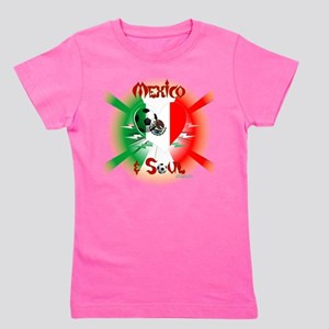 Mexican Soccer Soul Girl's Tee