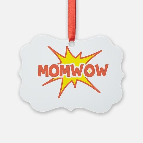 momwow-white Ornament