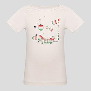 Mex Pride Organic Baby T-Shirt