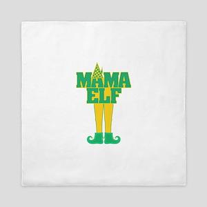 Mama Elf Queen Duvet