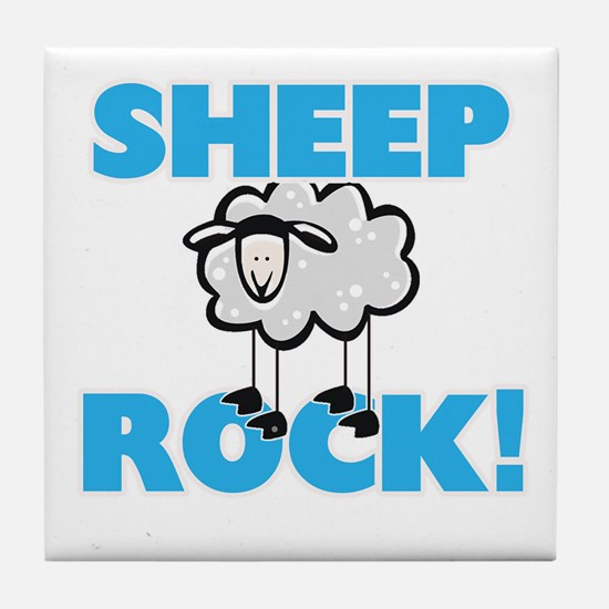 Sheep rock! Tile Coaster