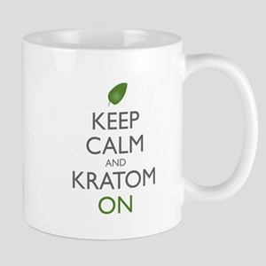 Keep Calm And Kratom On Mugs