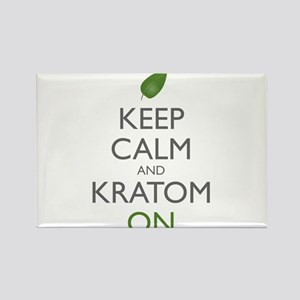 Keep Calm And Kratom On Magnets