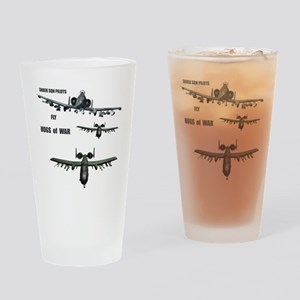 TeeShirt HOGS O WAR 01 copy Drinking Glass