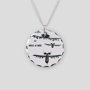 TeeShirt HOGS O WAR 01 copy Necklace Circle Charm