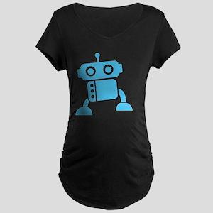 robot1 Maternity Dark T-Shirt