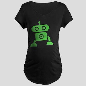 robots15 Maternity Dark T-Shirt