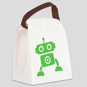 robots15 Canvas Lunch Bag