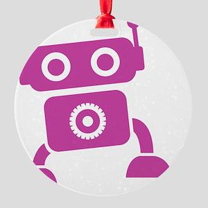 robots19 Round Ornament