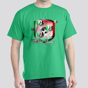 Mexican World Power Dark T-Shirt