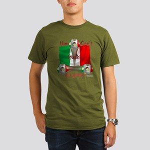 Mexico Soccer Game On Organic Men's T-Shirt (dark)