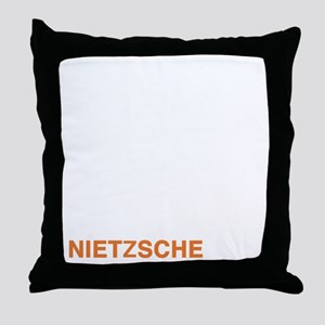 NIETZSCHE_24a Throw Pillow