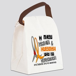 Diabetes MS Daughters Canvas Lunch Bag