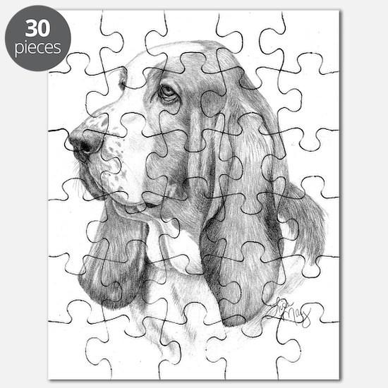 Basset Hound 001 Puzzle