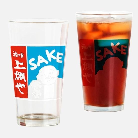 SAKE Shirt_CP Drinking Glass