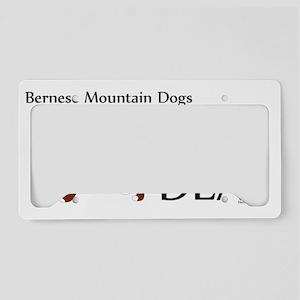 Bernese_BigDeal License Plate Holder